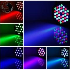 36W 36-LED RGB DJ PAR Disco Light Auto Voice DMX Control Stage Lighting rgb 36w