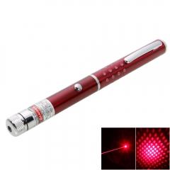 5mW Professional Gypsophila Light Pattern Red Laser Pointer red 5mw