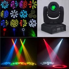 60W RGBW Spot LED Moving Head Stage Light DMX-512 DJ Disco Party Club Lighting rgb one size 30w