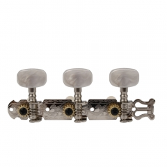 Classical Guitar Tuning Keys Pegs Machine Heads Oval Button