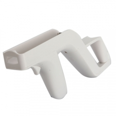 Shooting Games Zapper Gun Controller For Nintendo Wii Nunchuk Motion Plus Remote white