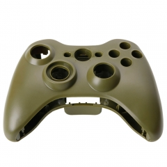Cover Shell Case + Buttons Kit for Xbox 360 Game Controller Army Green Army Green