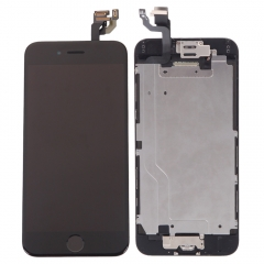 "Touch Screen Digitizer +Felx Camera Home Button Assembly for iPhone 6 4.7"" black one size"