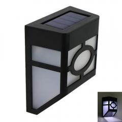 High Quality Solar Power White Light Control Sensor Light black one