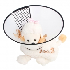 Elizabeth Protective Collar Wound Healing Cone Protection Smart Collar for Dog Cat Pet 1# as picture one