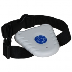 Small Ultrasonic Anti No Bark Barking Dog Training Shock Control Collar as picture one