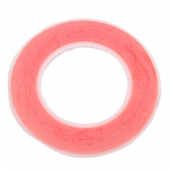 BEST Strong Adhesion Dustproof Foam Cotton Dual-side Sticky Tape 3mm red one size