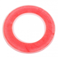 BEST Strong Adhesion Dustproof Foam Cotton Dual-side Sticky Tape 8mm (25m) red one