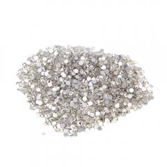 1440pcs 3D Nail Art Tips Gems Rhinestone Crystal Glitter Flatback Non Art DIY white one size