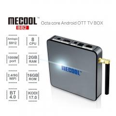 MECOOL BB2 Amlogic S912 64bit Octa core 2G/16G Android 6 TV Box WiFi black