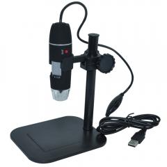 500X 2MP Digital USB Microscope Magnifier Camera Vidio 8 LED Zoom Endoscope black one