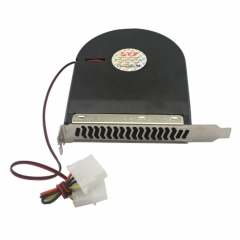 New System Blower Cpu Case Pci Slot Fan Cooler For Pc Computer black one size