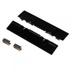 DDR3 DDR5 Aluminum Computer Memory Heat Spreader Cooler Cooling Heatsink black one size