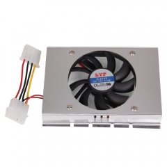 """HDD Hard Disk Drive Cooler Cooling Fan Heatsink 3.5"""" as picture 3.5"""""""