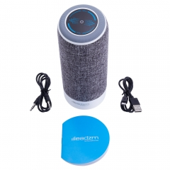 Missile Air Bluetooth Wireless Super Mini Speaker For iPhone Samsung Tablet PC gray 3.7v DC one