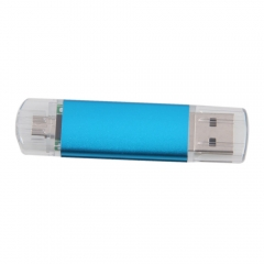 8GB 2 Port Smart Phone PC OTG 8G Micro USB 2.0 Flash Drive Memory Stick blue one size 8gb usb flash drive