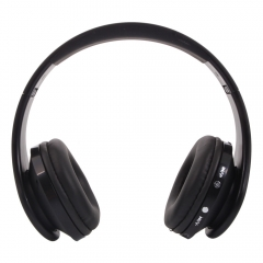 Foldable Wireless Bluetooth Stereo Headset Headband For Smart Phone Samsung black