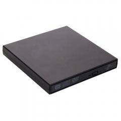 USB 2.0 LightScribe DVD-ROM CD-RW DVD-RW Burner External Drive for PC Laptop black
