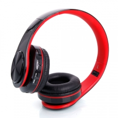 Wireless Head Wear Type Bluetooth V3.0 + EDR Stereo Sport Bluetooth Headset black & red