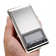 500g * 0.01g Digital Electronic Pocket Jewelry Scale Weight Electronic Balance silver mini