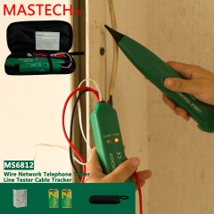 MASTECH MS6812 Network Cable Ethernet LAN Phone Wire Line Tracker Tester Finder as picture one