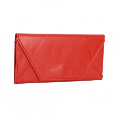 Stylish Envelope Style Purse Wallet red one size