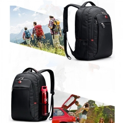 "Men Women SwissGear Big Bag 15.6"" Laptop Backpack Outdoor Notebook Travel Bags black one size"