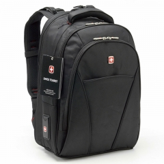 4005 High-grade Business Taste Multifunctional Double Shoulder Backpack black one size