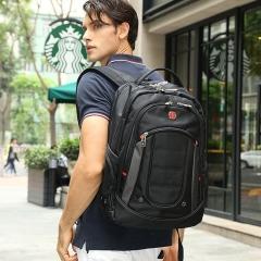 """Swissgear 15.6"""" Laptop Notebook Satchel Shoulder Rucksack Backpack School Bag black one size"""