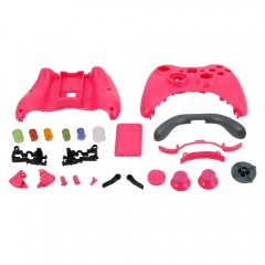 Full Case Shell Cover + Buttons For Microsoft XBox 360 Wireless Controller