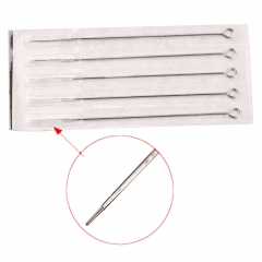 7RL 5pcs Stainless Steel Professional Tattoo Needles Round Liner silver
