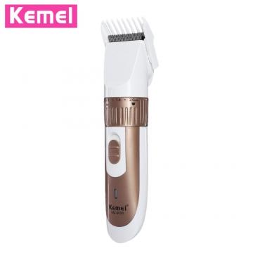 KEMEI - 9020 Rechargeable Hair Trimmer Clipper Shaver Cutter Styling Kit for Men GOLDEN Hair Trimmer