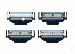 Convenient Oringinal Three Holding Razor Blade TRANSPARENT
