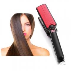 Pro Hair Straightener Ceramic Straightener Irons Automatic Machine Tourmaline Hair Straightener Red One Size