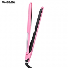 Professional LCD Display Temperature Adjustable Multi-functional Styling Tools pink one size