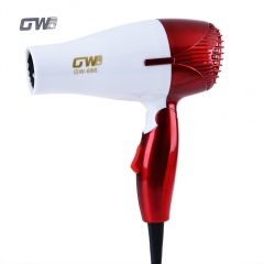 Mini Foldable Portable Thermostatic Air collecting Traveller Compact Blower Electric Hair Dryer red one size