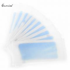 10PCS Hair Removal Double Side Cold Wax Strips Paper For Leg Body Facial Hair 2016 Hot Selling as the picture