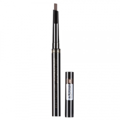 Single Headed Rotary Automatic Pencil Waterproof Long Lasting Makeup Eyebrow Pen Beauty Make Up Brown