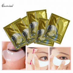 Crystal Collagen Eyelid Patch Moisture Eye Mask Remove Black Eye Dry Wrinkle Eye Mask as the picture