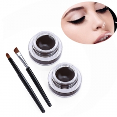 New Fashion Magic Coffee Color Waterproof Long Lasting Charming Eye Liner 2016 Hot Sale as the picture
