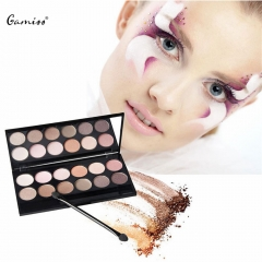 12 Colors Makeup Colorful Eyeshadow Palette Highlighting Blusher Concealer with Mirror colormix