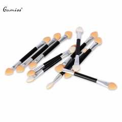 10pcs Professional Makeup Powder Double Head Eyeshadow Nail Small Brush Eye Shadow Applicator as the picture