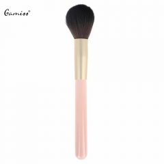 2016 New Hot Sale Professional Premium Inclined Design Foundation Powder Cosmetic Makeup Brush pink