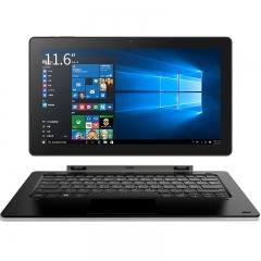 Cube iwork1x 2 in 1 Tablet PC 11.6 inch Windows 10 IPS Screen Intel Atom X5-Z8350 64bit Quad Core black