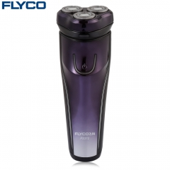 FLYCO FS372 Floating Shaver Rechargeable Washable Electric Razor Dark Purple