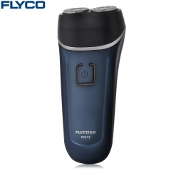 FLYCO FS872 Floating Shaver Rechargeable Washable Electric Razor black