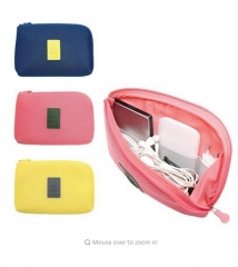 Portable storage bags such as USB cable headphones plastic insert GI876800 travel