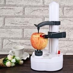 2016 New Arrival Electric white stainless steel potato peeler fruit Vegetable Peeler Potato Cutter