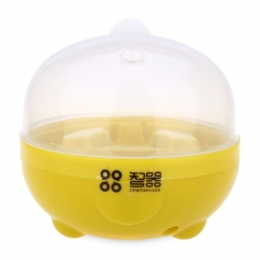 Practical Mini Electric Egg Boiler for Home Kitchen Eggs Cooker Steamer Kitchen Tool Egg Boiling as the picture