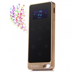 RUIZU X05 8G Digital MP3 Player Touch Screen Music Player Pedometer FM Stereo Radio Support FM Ratio golden